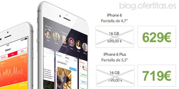 oferta iPhone 6 reserva