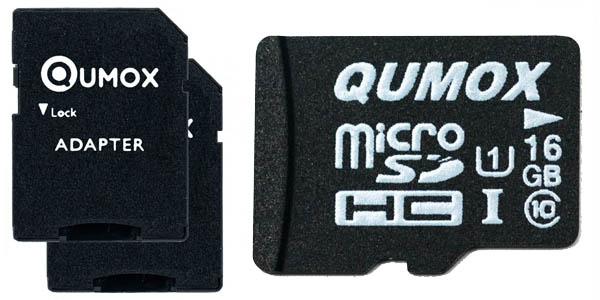 Tarjetas microSDHC qumox