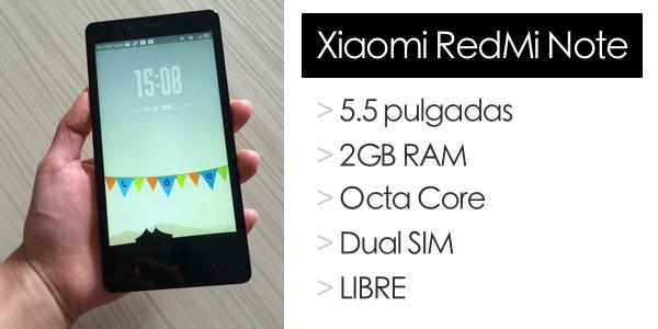 Xiaomi RedMi Note barato