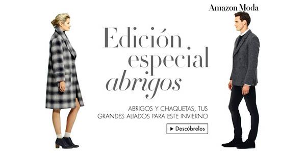 Abrigos baratos en Amazon