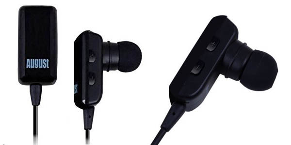 Auriculares Bluetooth August