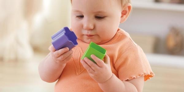 juego de bloques infantiles