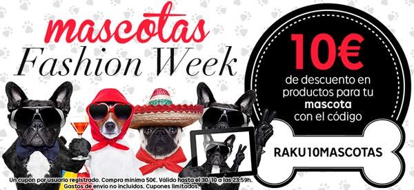 Mascotas Fashion Week