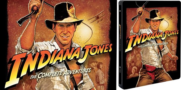 Indiana Jones Colección Blu-ray oferta