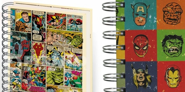 libreta A5 Marvel Faces