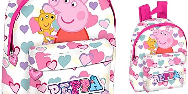 mochila de guardería Peppa Pig