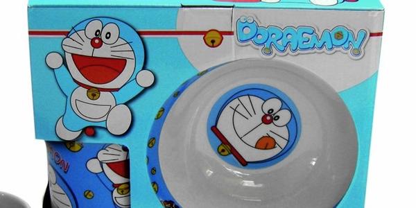 set de desayuno Doraemon