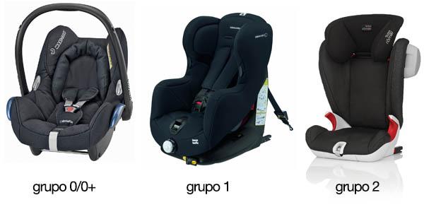 Grupos de sillas de coche