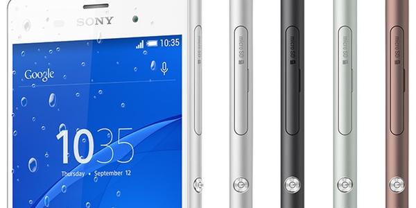 Sony Xperia Z3 en colores