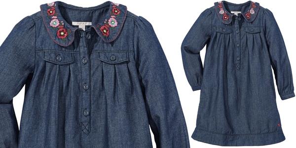 vestido para niña barato Esprit