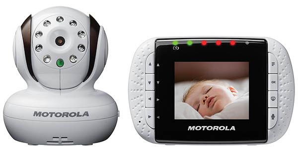 Vigilabebés con cámara de Motorola
