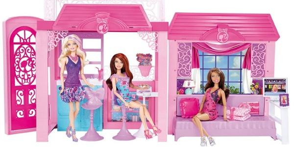 Casa de Barbie barata