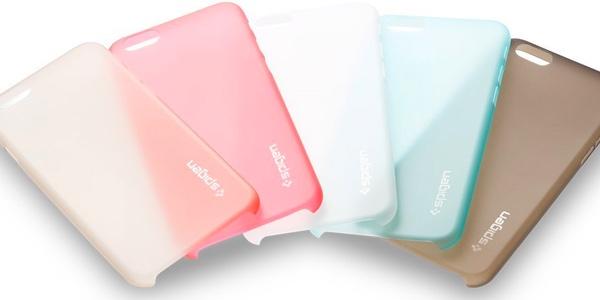 funda AirSkin para iPhone 6 de spigen