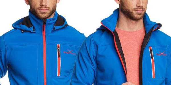 Chaqueta Softshell Black Canyon en azul