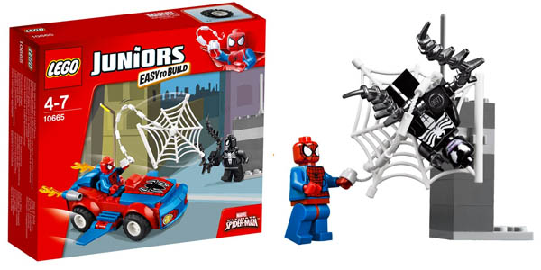 Lego Juniors Spiderman en coche