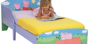 oferta cama infantil Peppa Pig