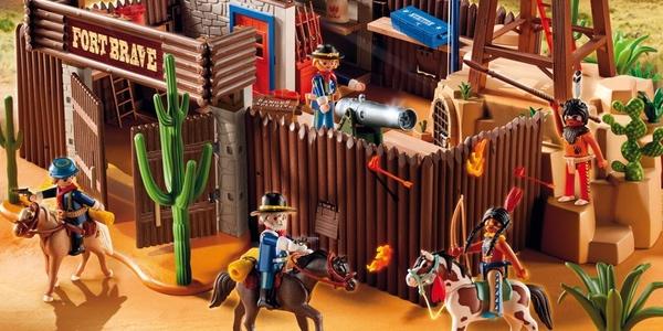 fuerte del Oeste de Playmobil
