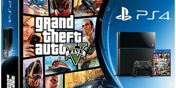 Oferta pack PS4 GTA V