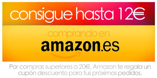 código descuento en Amazon diciembre 2014