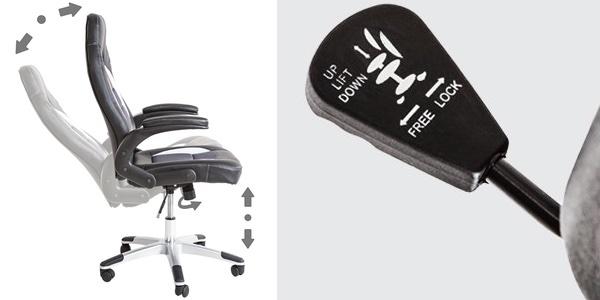 silla de escritorio cómoda y barata