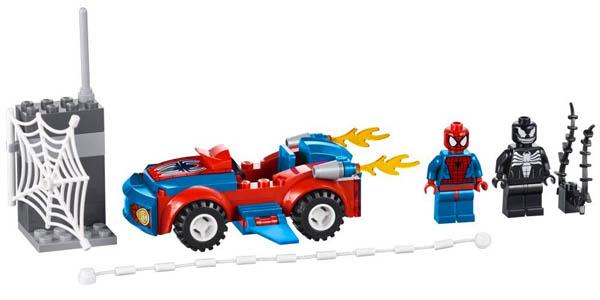 Spider-man y Veneno Lego