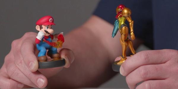 amiibo Super Mario vs Samus