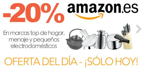 20% descuento Amazon Hogar