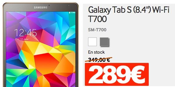 Samsung Galaxy Tab S T700 oferta