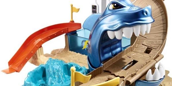 Hot Wheels Pista tiburón devorador