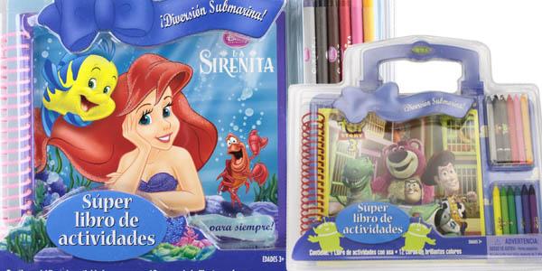 Libros actividades Disney