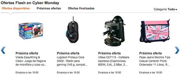Ofertas flash del Cyber Monday 2014
