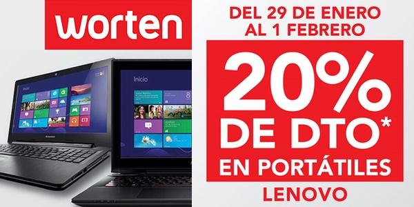 descuento portátiles Lenovo