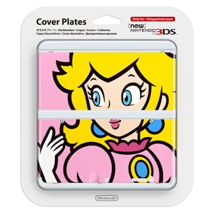 Carátula Peach para New Nintendo 3DS