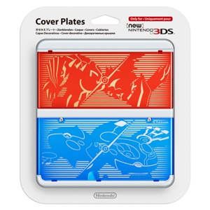 Carátula Pokémon Rubí Omega y Zafiro Alfa para New Nintendo 3DS