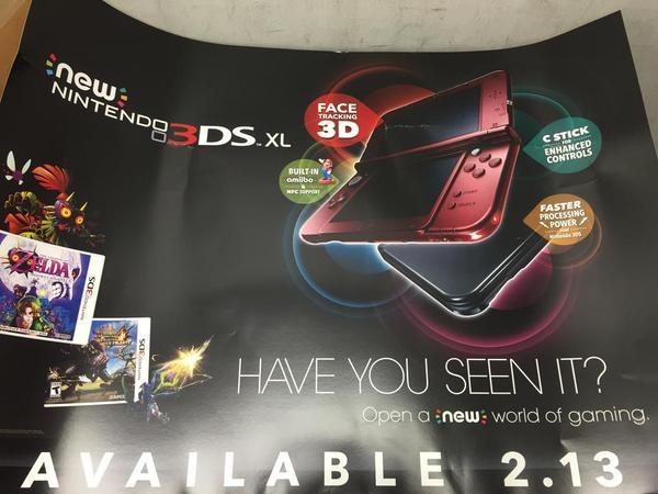 fecha salida New Nintendo 3DS XL