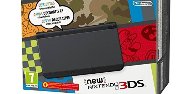 comprar New Nintendo 3DS negra