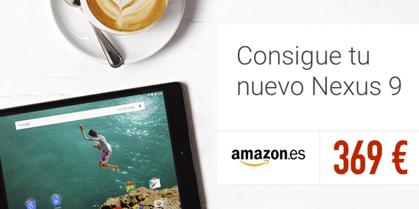 Nexus 9 al mejor precio