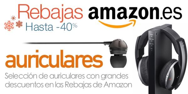Auriculares rebajados en Amazon España