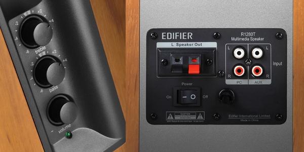 Conexiones Edifier R1280T