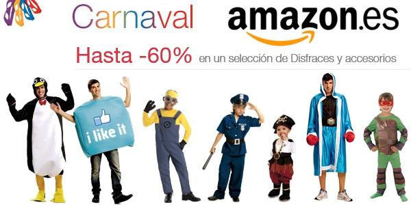 Ofertas en disfraces de Carnaval
