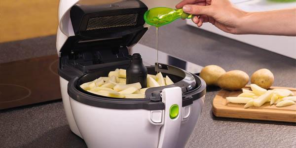 Freír patatas sin aceite
