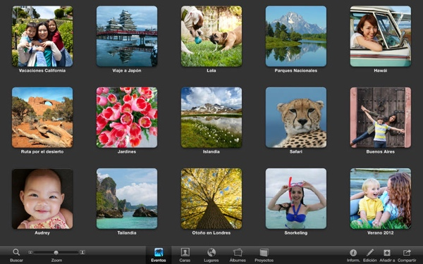 iPhoto Albums