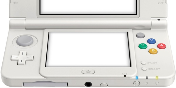 New Nintendo 3DS blanca