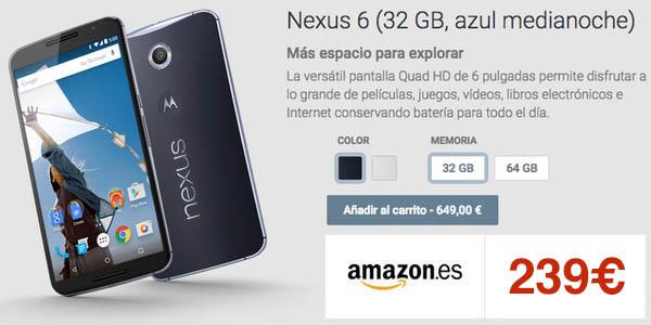 Oferta Nexus 6