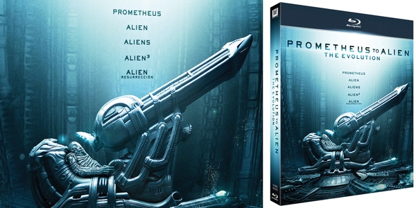 Prometheus to Alien Blu-ray