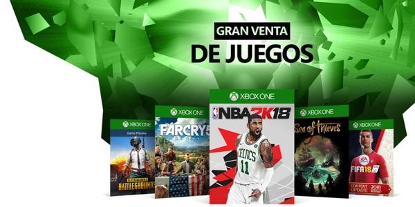 Xbox Ultimate Game Sale Rebajas verano