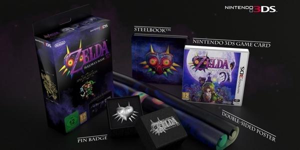 Legend of Zelda Majora's Mask Edición Especial