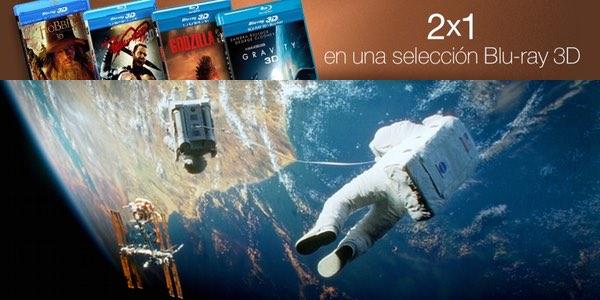2x1 Blu-ray 3D Amazon.es