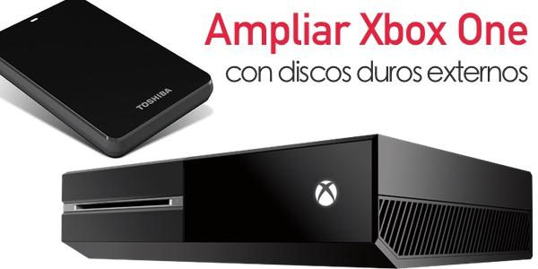 Ampliar disco duro Xbox One