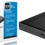 caja externa disco duro portátil